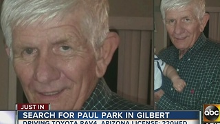 Police searching for missing Gilbert man - Video