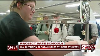 B.A. Nutrition Program Helps Student Athletes