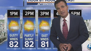 Sunday night weathercast on newschannel5 at 1130 - Video