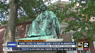 Panel votes to remove Roger Brooke Taney statue in Annapolis - Video