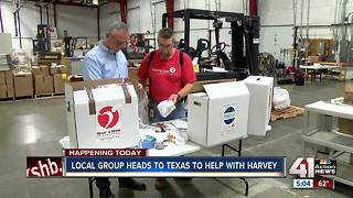 Lenexa group Heart to Heart International heads to Texas to help with Hurricane Harvey - Video
