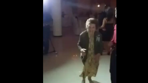 Energetic 87-Year-Old Has The Time Of Her Life Dancing At Wedding
