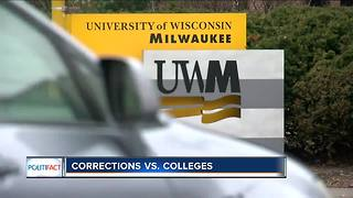 PolitiFact Wisconsin: Corrections versus colleges - Video