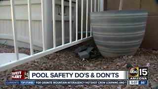 Pool safety do's and don'ts - Video