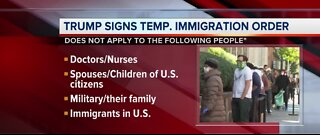 Exemptions on immigration suspension order