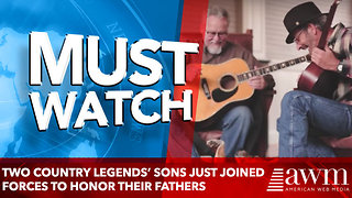 Two country legends' sons just joined forces to honor their fathers' legacies - Video