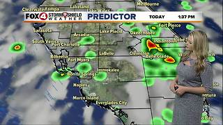 FORECAST: Hot & Humid, Scattered Storms Continue - Video