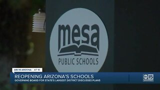 Mesa schools weighing 3 options for reopening in August