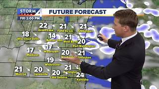 Another cold front hitting Milwaukee - Video