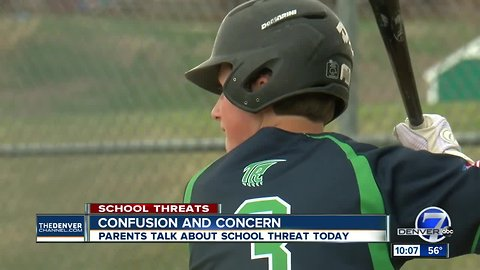 Confusion and concern: ThunderRidge High School parents talk about school threat across the Front Range