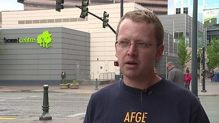 VA Union group AFGE attempts to raise awareness in downtown Boise