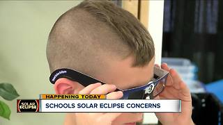Schools solar eclipse concerns - Video