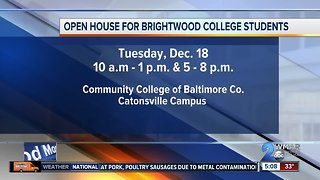 CCBC reaching out to students from shuttered college