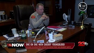 Donny Youngblood begins his 4th term as Kern County Sheriff