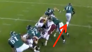 Carson Wentz Pulls a Houdini to Avoid Sack - Video