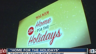 Walker Furniture kicks off Home for the Holidays program - Video