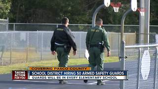 Pasco County school district hiring 50 armed safety guards - Video