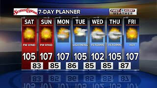 13 First Alert Las Vegas Weather July 20 Morning