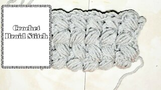 How to Crochet the Braid Stitch