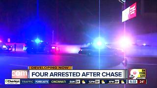 At least 4 arrested in Oakley after police chase - Video