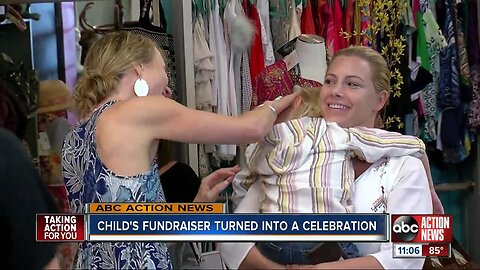 Fundraiser turns into celebration after child allegedly kidnapped is returned from Lebanon