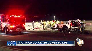 Marine veteran injured in wrong-way, DUI crash