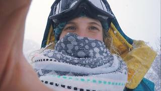Young girl Living the dream in Australia  - Video