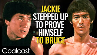 Jackie Chan vs. The Legacy of Bruce Lee | Life Stories by Goalcast