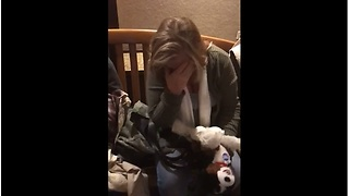 Mom receives emotional birthday gift to remember deceased dog - Video