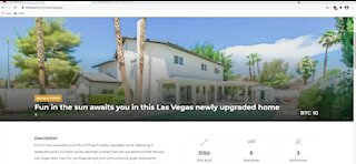 Vegas area home selling for 10 Bitcoin