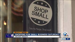 Shopping for Small Business Saturday