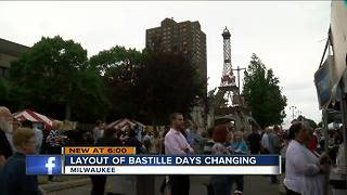 Bastille Days changes footprint to accommodate Milwaukee Streetcar - Video