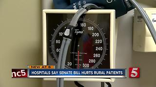 Rural Hospitals In Jeopardy If Senate Healthcare Bill Passes - Video
