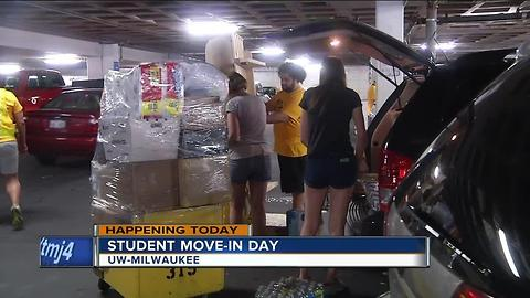 Thousands of UW-Milwaukee students to move into dorms for fall semester