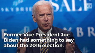 Biden Turns on Clinton - Video