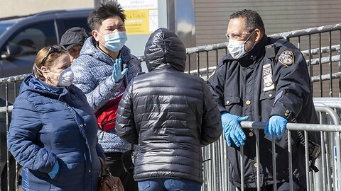 'They're Going To Do Their Job:' Police Amid Coronavirus Pandemic