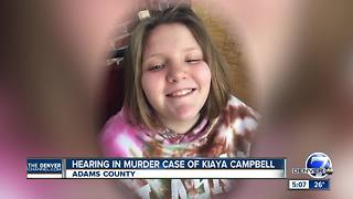 Hearing will determine if teen accused of killing Kiaya Campbell will be tried as adult - Video