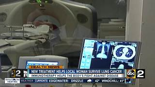 Clinical trials provide second option for lung cancer patients - Video