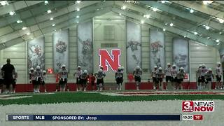 Huskers Open Fall Camp - Practice Report - Video