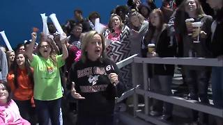 Friday Football Frenzy: Beech Grove donut hole-eating contest at rally to play Speedway - Video