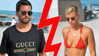 Scott Disick and Sofia Richie SPLIT!!? Fans Notice Mysterious Unfollow on Instagram - Video
