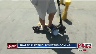 Shared electric scooters coming to Omaha