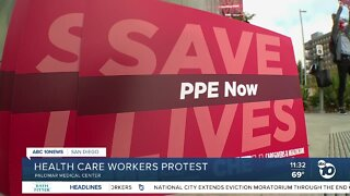 Local health care workers rally, call for more PPE
