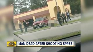Man dead after shooting spree - Video