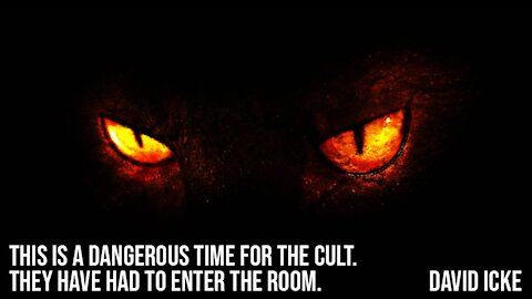 This Is A Dangerous Time For The Cult - They Have Had To Enter The Room