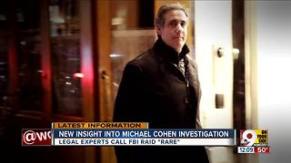 New insight into Michael Cohen investigation - Video