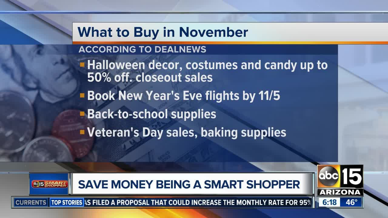 What to buy and avoid in November
