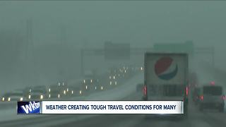 tricky winter travel Tuesday across WNY - Video