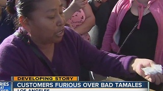 Customers angry over rotten Christmas tamales - Video