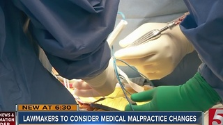 Tennessee Lawmakers To Consider Medical Malpractice Overhaul - Video